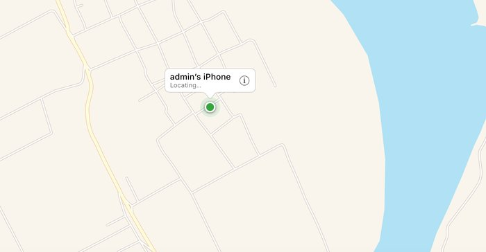 định vị điện thoại iphone bằng icloud