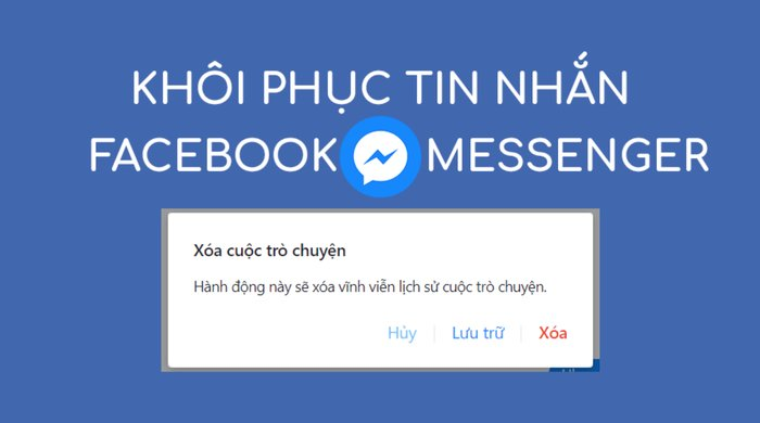 cach khoi phuc tin nhan facebook