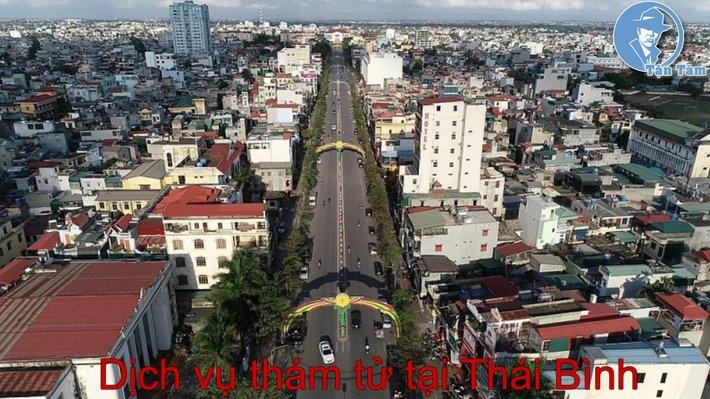dịch vụ thám tử tại Thái Bình