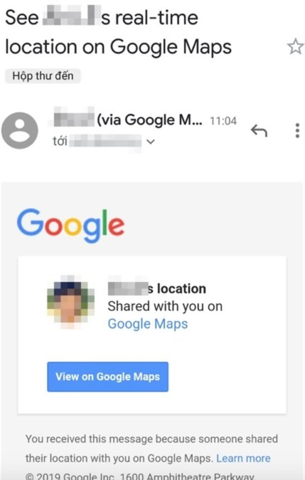 dinh vi dien thoai qua google maps