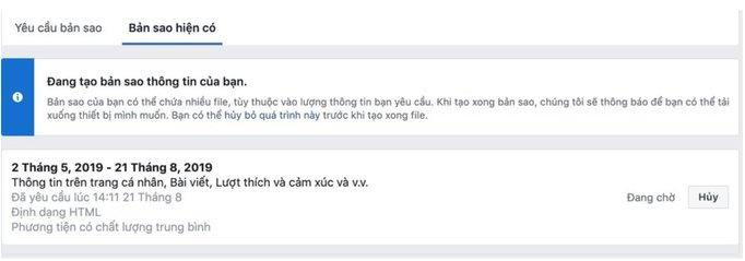 lay lai tin nhan da xoa tren facebook