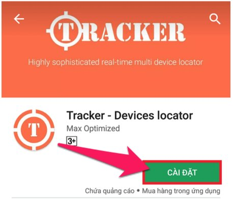 phan mem dinh vi Tracker Devices Locator