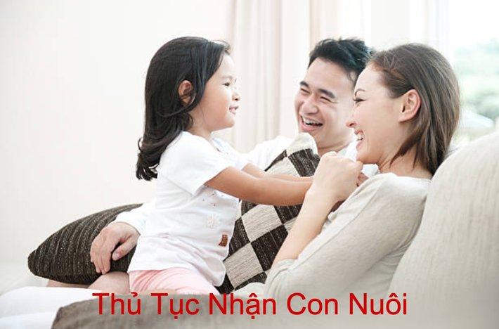 thu tuc nhan con nuoi